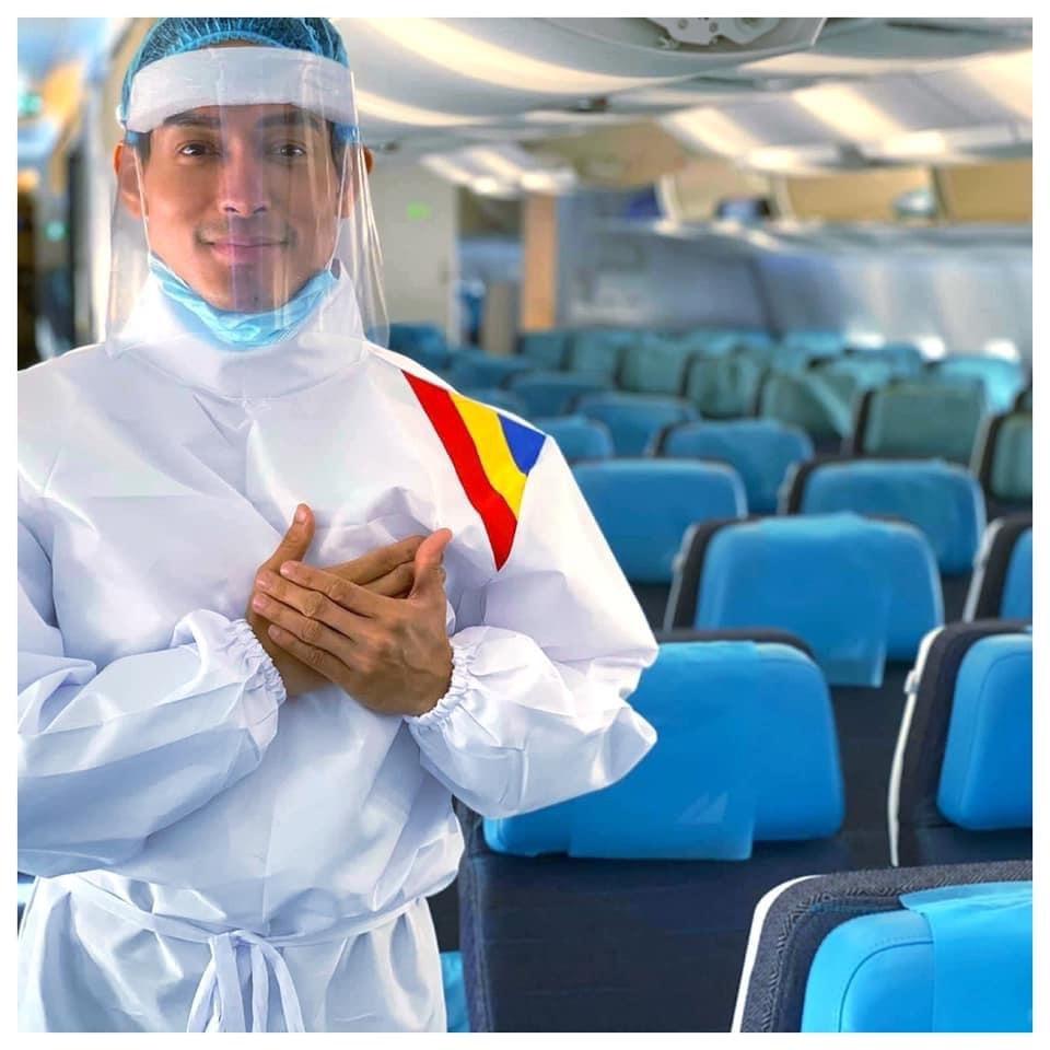 Filipine: Noi uniforme pentru echipajele de cabină pe timp de pandemie
