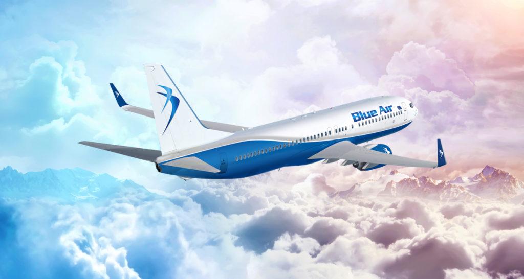 Blue Air reia cursele România – Irlanda. Vezi aici orarul de zbor.