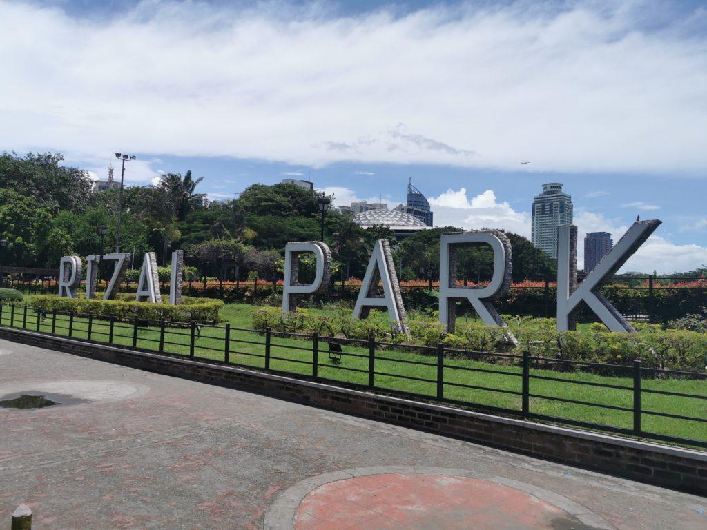 Scurtă vizită în Parcul Rizal (Luneta)