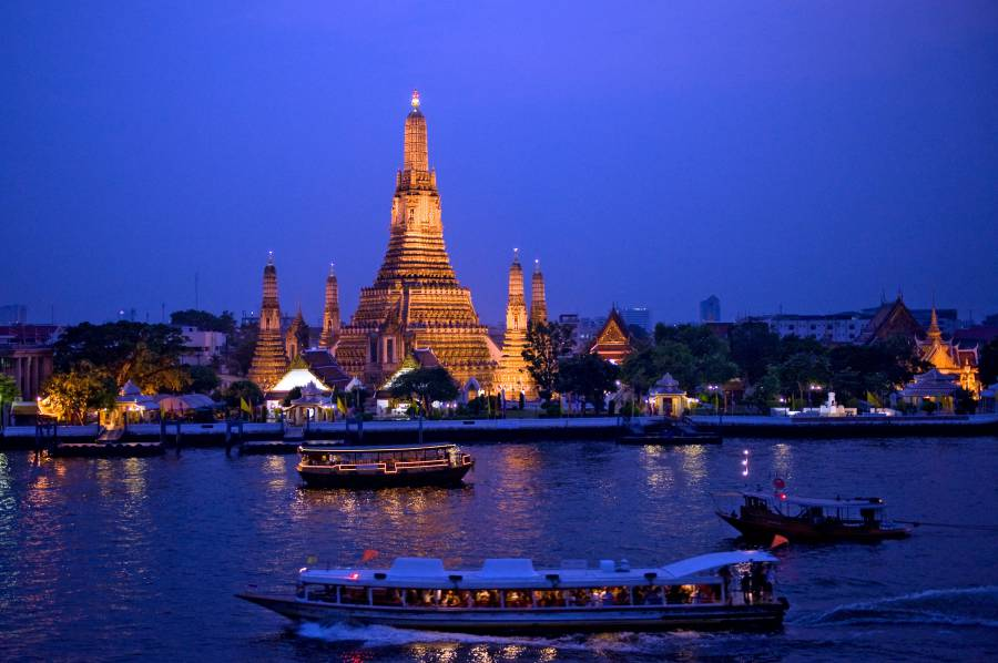 Chao Phraya, Râul Regilor din Thailanda