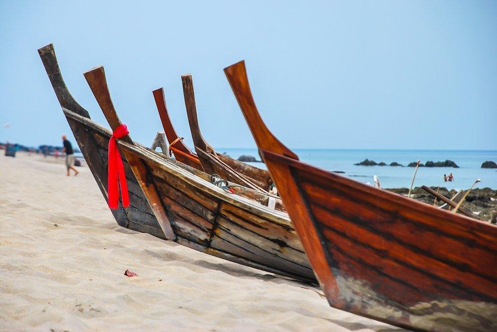 Koh Lanta, Coasta Mării Andaman