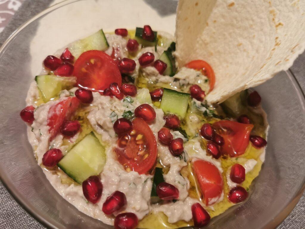 Salata de vinete coapte cu tahini